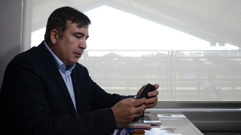 Endstation Przemyśl: Zug mit Michail Saakaschwili bleibt in Polen
