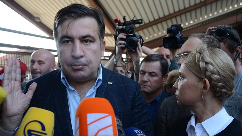 """""""Illegale Einwanderung"""": Michail Saakaschwili bricht in die Ukraine durch"""