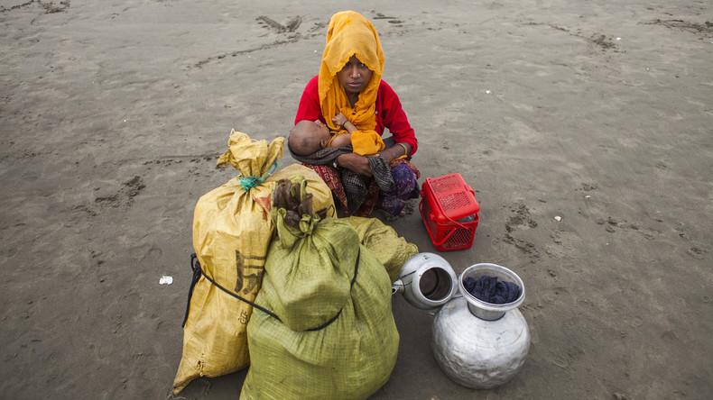 Mindestens 300.000 Rohingya aus Myanmar nach Bangladesch geflüchtet