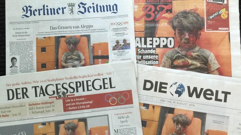 """Der """"andere"""" Omran: Einwohner Aleppos entlarven die Lügen der Massenmedien"""
