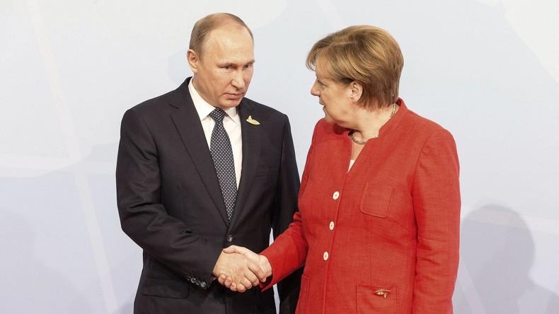 Telefongespräch zwischen Putin und Merkel: Ein Schritt weiter zu Blauhelmmission in Donbass