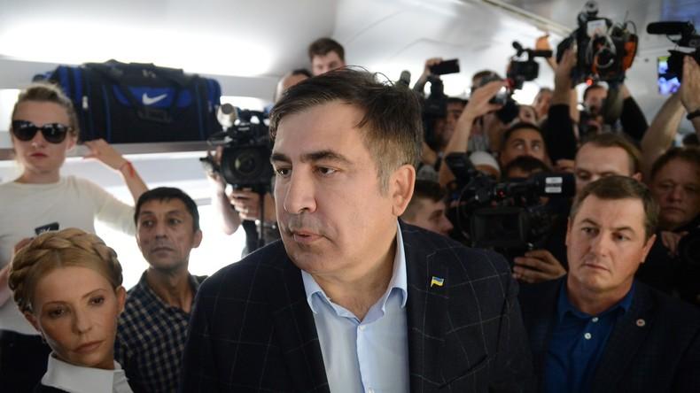 Ukraine: Saakaschwilis Rückkehr als illegaler Eindringling