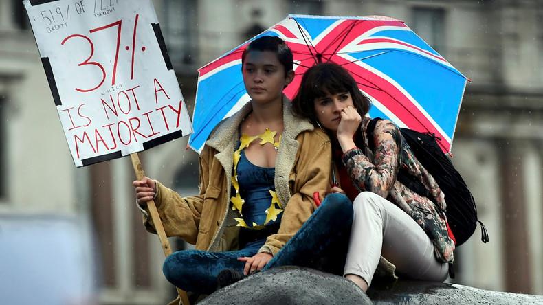 EU-Austrittsgesetz nimmt erste Hürde in Großbritanniens Parlament