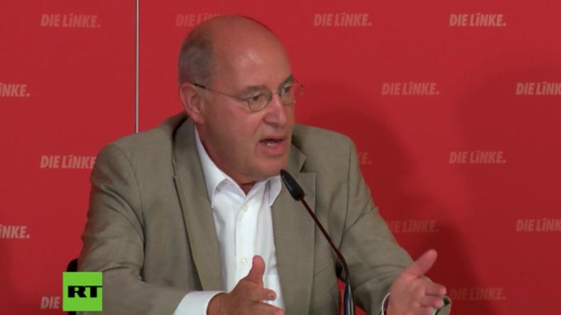 Gysi zum Klima in Deutschland: Wir werden bezahlen, wenn Politiker weiterhin bürgerfern bleiben