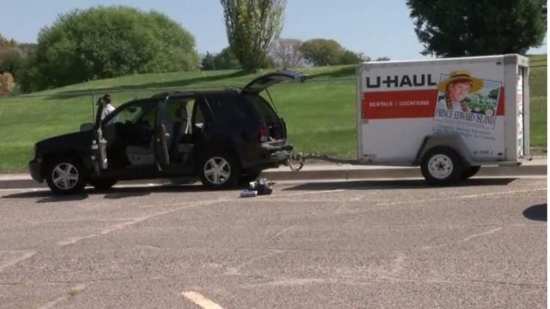 Blinder Passagier: Auto mit Leiche im Anhänger in USA gestohlen