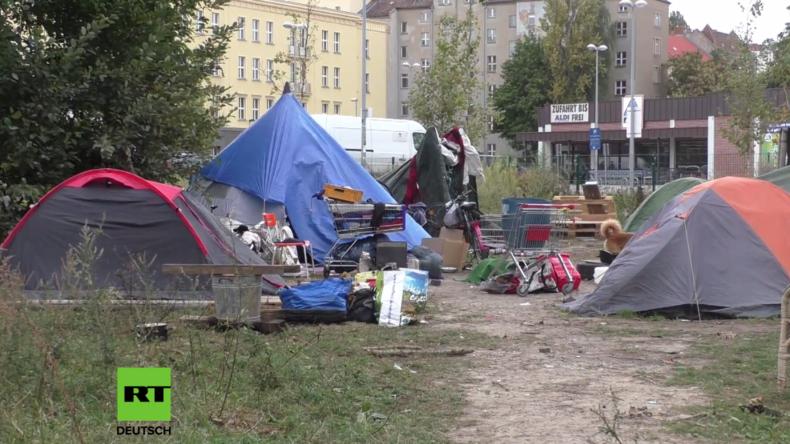 Berlin: Die Hauptstadt der Obdachlosen – Zeltlager an beliebter Disko soll geräumt werden