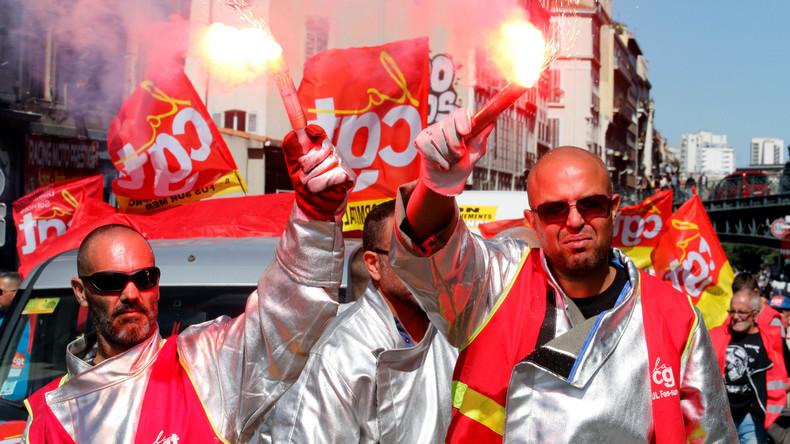 Tausende demonstrieren gegen Arbeitsmarktreform in Frankreich [VIDEO]