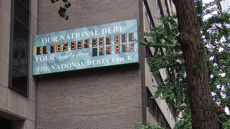 New York: Schuldenuhr tickt nicht mehr