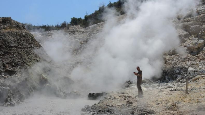 Tod bei Neapel: Familie stirbt im Vulkankrater