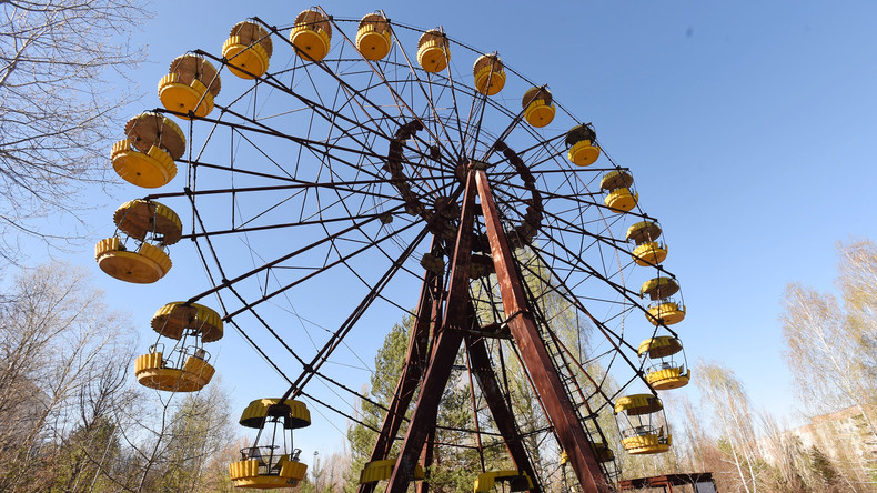 Riesenrad bei AKW Tschernobyl dreht sich wieder – ohne Strom [VIDEO]