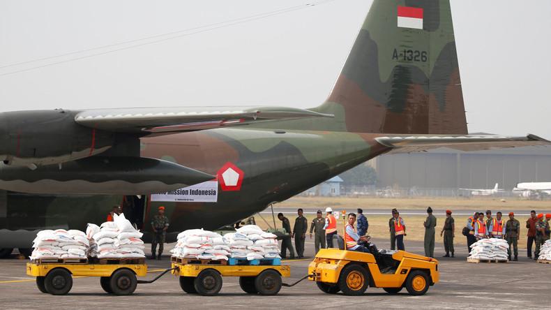 Indonesien schickt Hilfsgüter für Rohingyas nach Bangladesch