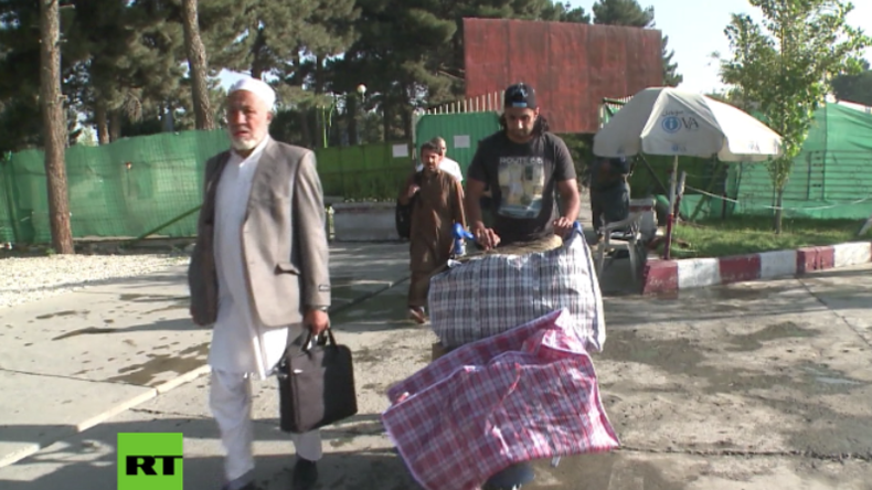 Afghanistan: Aus Deutschland abgeschobene Asylanten treffen in Kabul ein