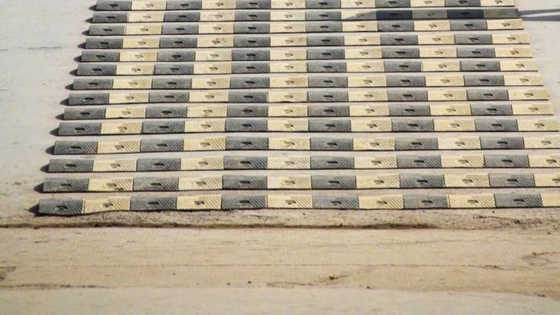 China: Über 600 Bremsschwellen auf kilometerlanger Strecke eingerichtet [VIDEO]