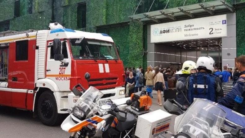 Bombendrohungen in Moskau - über 10.000 Menschen evakuiert