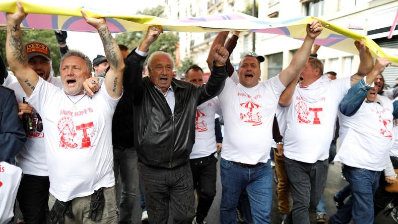 Frankreich: Proteste gegen Macrons Arbeitsmarktreformen