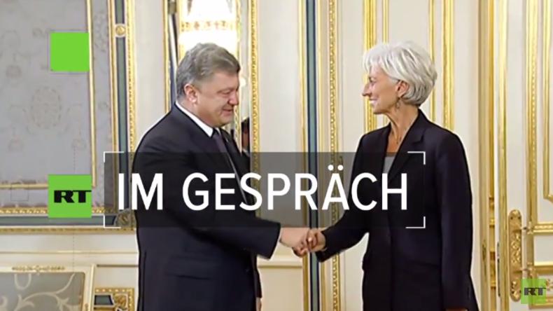 Ukrainischer Wirtschaftsexperte: Milliarden-Kredite des IWF bewirken Ausverkauf des Landes