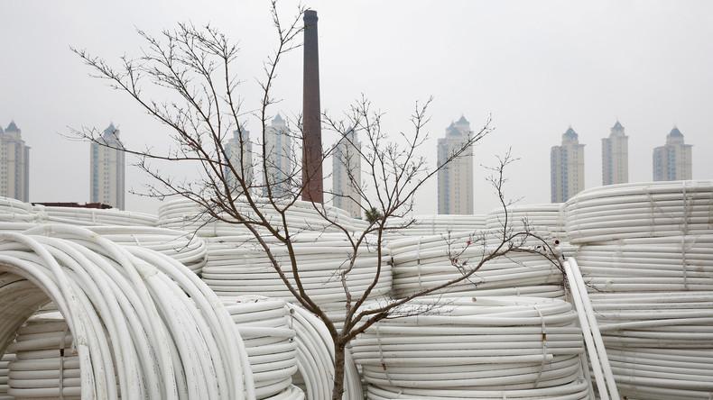 Chinas Wirtschaft wächst schwächer als erwartet