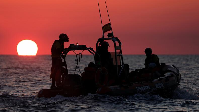 Bundeswehr rettet 134 Flüchtlinge vor Libyens Küste