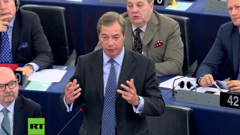 """Nigel Farage zu Juncker und dessen EU-Plan: """"Zentralisierung wie in der Sowjetunion"""""""