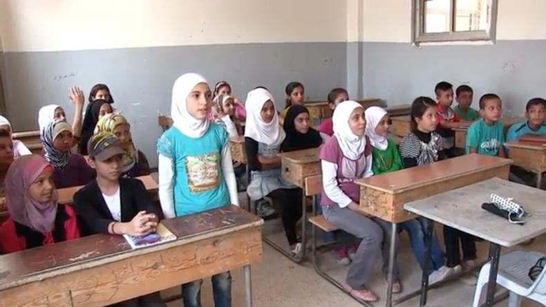 Deir ez-Zor: Kinder gehen erstmals wieder ohne Furcht vor IS-Angriffen in die Schule