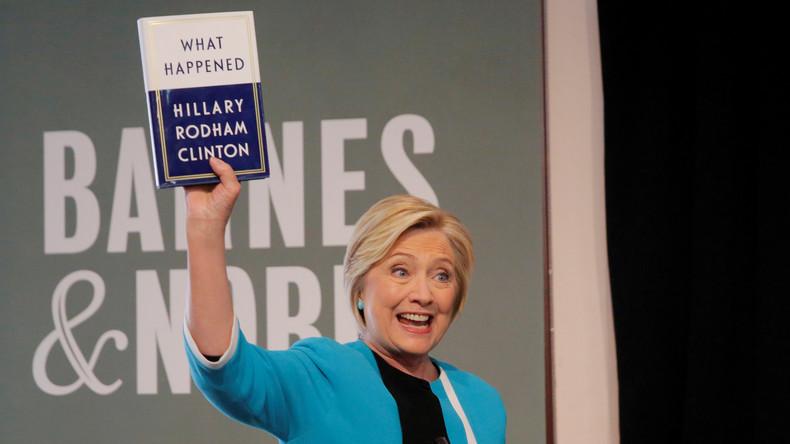 Hillary Clinton: Immer sind die anderen Schuld