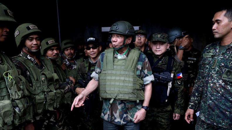 Duterte will kommende Woche das Kriegsrecht im gesamten Land verhängen