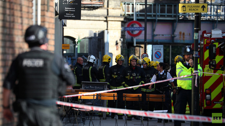 Live aus London nach Explosion in der U-Bahn-Station Parsons Green