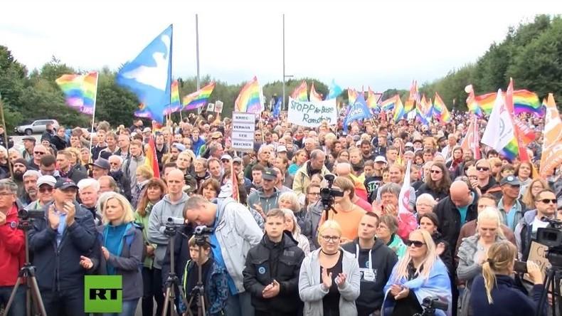 """Programmbeschwerde gegen ARD: Unterschlagung der Proteste """"Stopp Ramstein"""" vor US-Militärbasis"""
