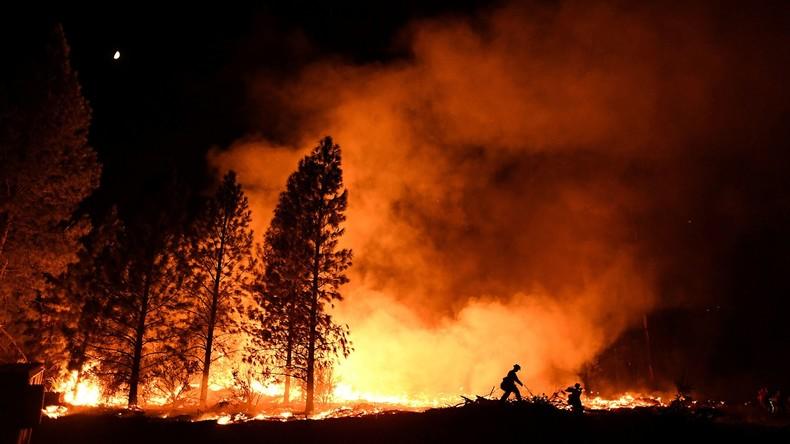 Schüler als Brandstifter von Waldbränden auf 300 Hektar Fläche in Frankreich angeklagt