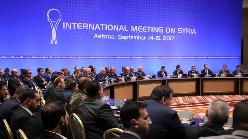 Gegen al-Kaida: Russland, Iran & Türkei einigen sich auf Deeskalationszone in Syriens Idlib-Provinz