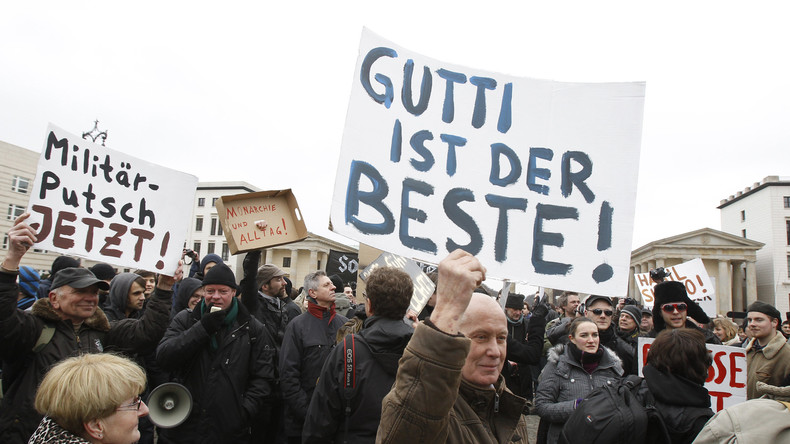 Bundestagswahl 2017: Merkel schätzt zu Guttenberg als politischen Gesprächspartner
