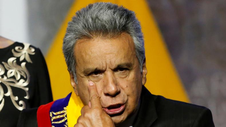 Acht Jahre Überwachung: Ecuadors Präsident entdeckt Geheimkamera in Arbeitszimmer