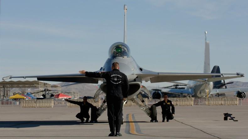 USA erklären Informationen über Absturz von Kampfflugzeug in Nevada für geheim