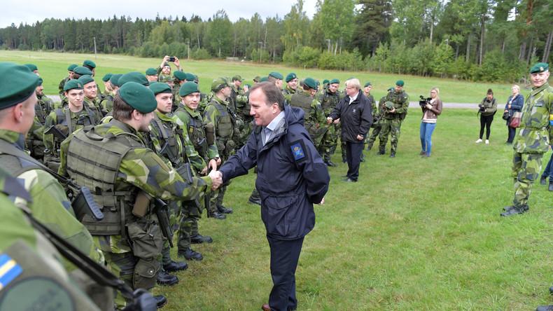 Schwedische Soldaten versuchten Demonstrationen gegen Militärübung und NATO zu sabotieren