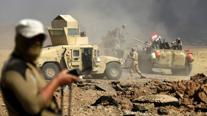 Irakische Armee beginnt mit Großoffensive gegen IS an Syriens Grenze