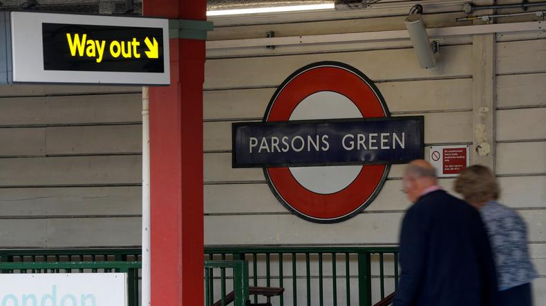 Britische Polizei nimmt Verdächtigen nach U-Bahn-Anschlag fest