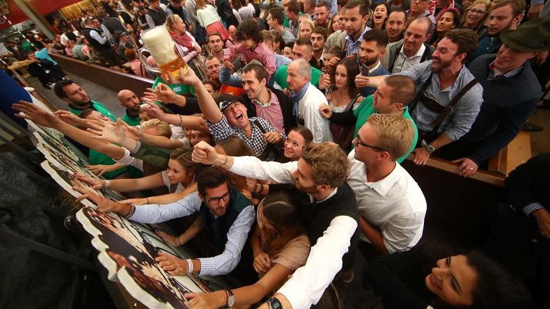 Oktoberfest erfreut Bierliebhaber zum 184. Mal