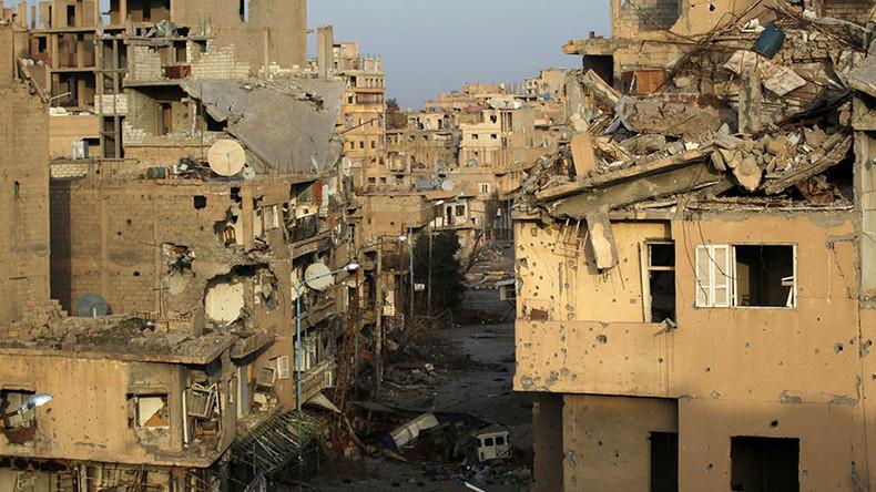 Exklusive Luftaufnahmen der befreiten syrischen Stadt Deir ez-Zor