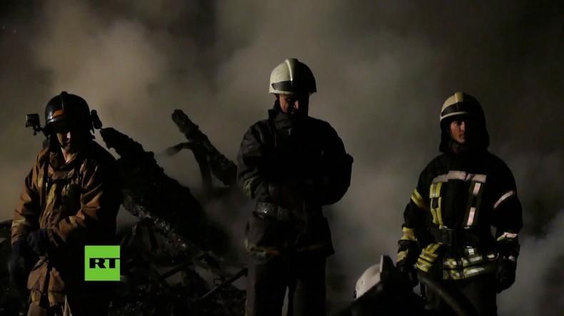 Tödliches Feuer in Kindererholungsheim in Odessa