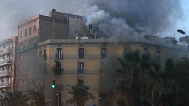 Gasexplosion in Barcelona: 21 Verletzte in Bäckerei