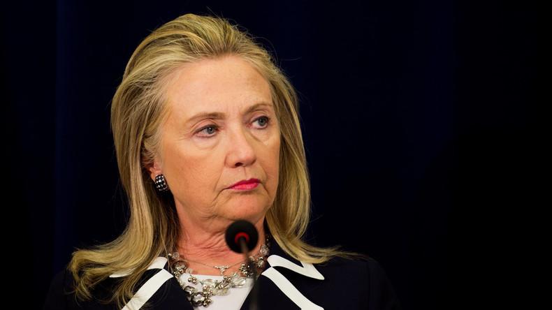 Hillary Clinton rügt Facebook für angebliche russische Werbekampagne gegen ihre Präsidentschaft