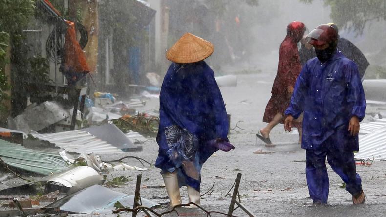 Acht Menschen sterben bei Taifun in Vietnam