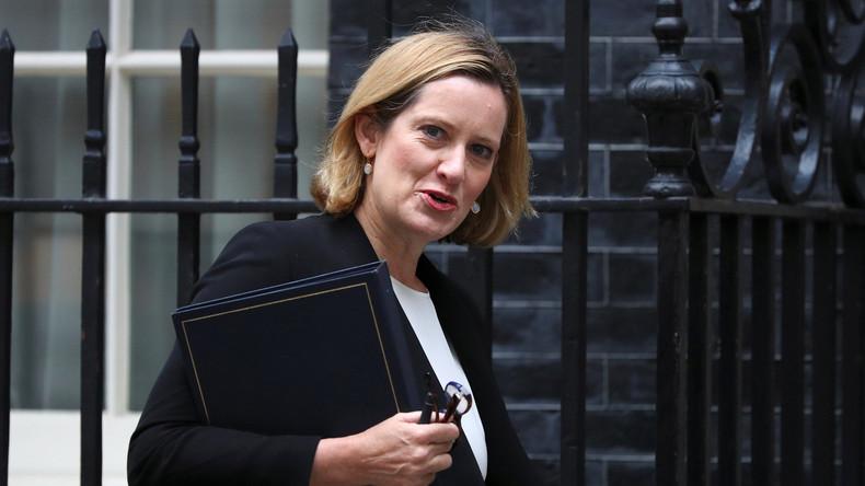 """Britische Innenministerin bezeichnet Donald Trumps Tweet zu Angriff in London als """"pure Spekulation"""""""