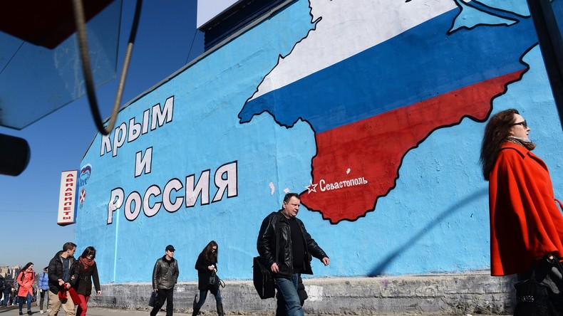 Sanktionen bis in alle Ewigkeit: USA will Strafmaßnahmen nur nach Krim-Rückgabe aufheben