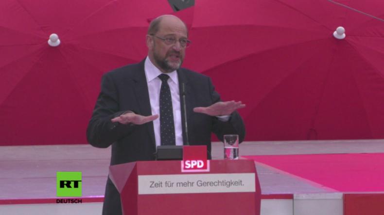 """Martin Schulz: """"Müssen uns Putin, Trump und Erdogan entgegenstellen"""""""