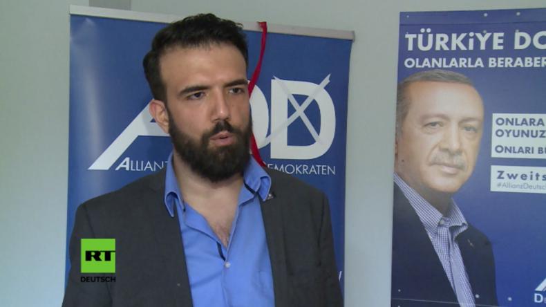 """Pro-Erdogan-Partei Deutschland: """"Auf den Straßen reagieren die Menschen sehr positiv auf Erdogan"""""""