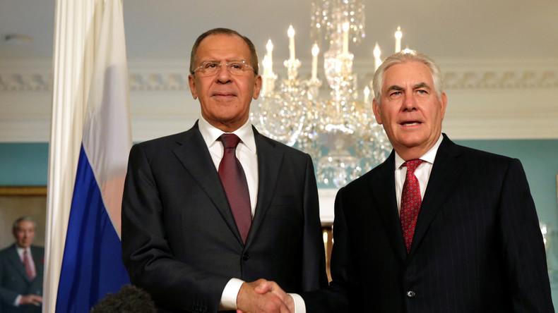 UN-Generalversammlung: Lawrow und Tillerson sprechen über Syrien und die Ukraine