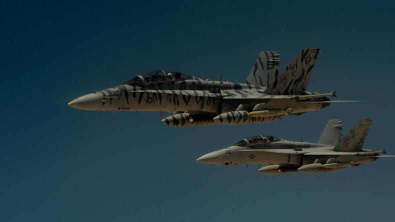 """Syrien: US-Luftwaffe tötet 12 Zivilisten im Kampf gegen """"Islamischen Staat"""""""