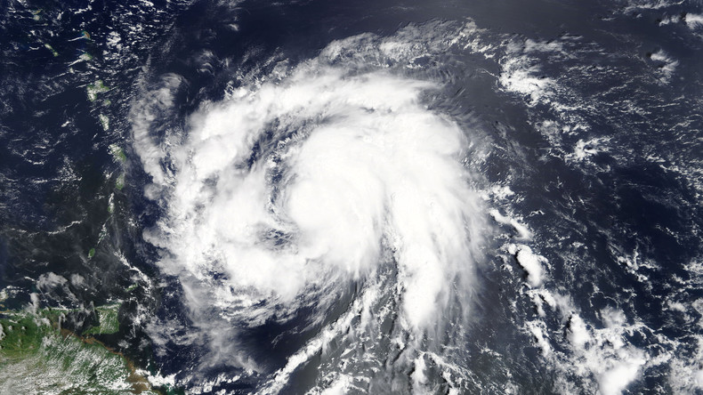 """Unwetter in der Karibik zieht weiter an - Wirbelsturm """"Maria"""" jetzt Hurrikan der Kategorie 3"""