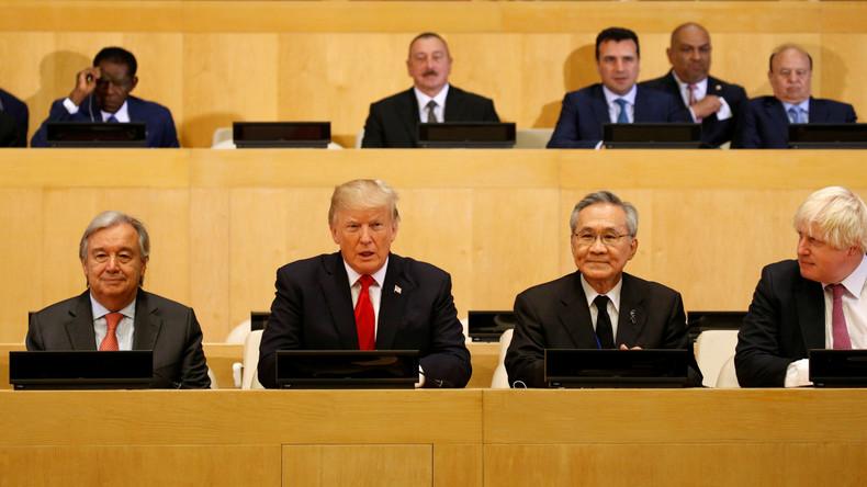 Trumps erste Rede an die UN: Iran und Nordkorea als die Wiege des Bösen